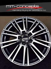 4 x Wheelworld WH18 Felgen 7.5 17 Zoll 5x112 grau poliert Alu Audi Golf R 5x112