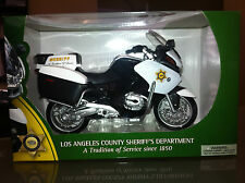 Los Angeles Sheriff LASD LAPD Police Charity Diecast Patrol Motorcycle BMW Model