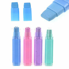 NS  Fashion Students Pen Shape Eraser Rubber Stationery Kid Gift Toy Cute