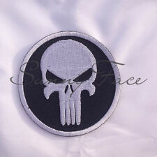 New Patch Badge Decoration Punisher Skull Seal Navy Guns Paintball Sniper