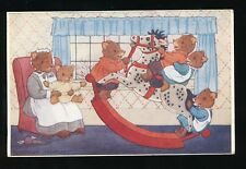 Animals BEARS The Rocking Horse Artist Margaret Tempest used 1948 PPC