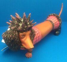 """New  HOT DIGGITY """"Punk Pooch"""" Resin Figurine Westland Giftware No.16465 No Box"""