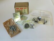 Vintage Versa Hood Lock with Key Ratrod Hotrod Cruiser NOS Chain 1960's Custom