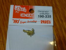 Cal-Scale HO #335 Steam Loco Electrical Generator (Brass Casting)With Muffler