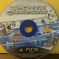 SPORTS CHAMPIONS (PS3) USED AND REFURBISHED (DISC ONLY) #10911