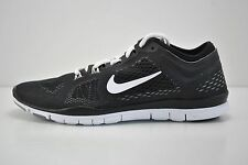 Womens Nike Free 5.0 TR FIT 4 Running Shoes Size 5 Black White Grey 629496 001