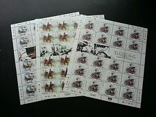 Malaysia Traditional Transportation 2004 Horse Vehicle Shaw (sheetlet) MNH *rare