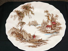 Vintage Johnson Brothers Staffordshire Collector Plate - The Old Mill