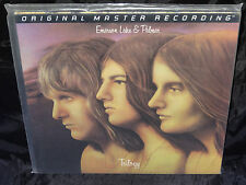 Emerson, Lake & Palmer Trilogy SEALED USA 1995 MFSL 200 GRAM 1/2 SPEED LP #2838