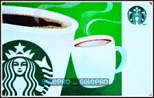 STARBUCKS COFFEE 2014 CANADA CAPPUCCINO AROMA SIREN LOGO COLLECTIBLE GIFT CARD