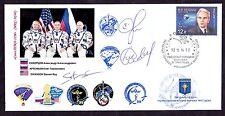 Soyuz TMA-12M/ISS-39 (2014) Autographs on the envelope.