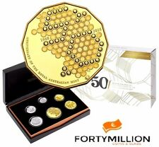AUSTRALIA:  2015 Proof Set - 50th Anniversary 6 Coin Proof Set