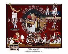 ALABAMA CRIMSON TIDE SOFTBALL COLLEGE WORLD SERIES NATIONAL CHAMPIONS S/N PRINT