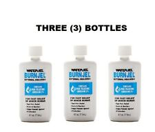 THREE (3) Water Jel Burn Gel  4 Oz Liquid Bottles NEW! 201441