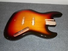 NEW - Fender Jazz Bass Body, Alder, 3-TONE SUNBURST FINISH - #JBF-3SB