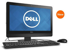 "NEW DELL 20"" LED 2.60GHz DUAL CORE 8GB 1TB WINDOWS 7 PRO ALL-IN-ONE PC + OFFICE"
