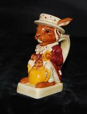 Alice in Wonderland Tony Wood Toby Pitcher Staffordshire - March Hare & Dormouse