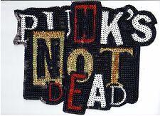 Sequin Patch: Punk's Not Dead
