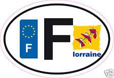 Autocollant sticker département 57 Région Lorraine