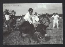 VERNEUIL-sur-AVRE (27) COURSE d'ANES en 1993