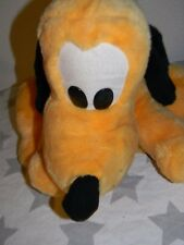 vtg 80s PLUTO THE DOG big plush stuffed animal WALT DISNEY WORLD Disneyland 15""