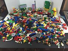 Huge Lego Lot 10 Lbs Bricks Parts Pieces Mixed sets & Mini Figs.