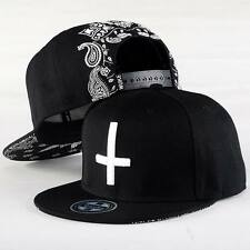 Fashion Mens Womens Baseball Hat Hiphop Bboy Adjustable Flat Snapback Dancer Cap