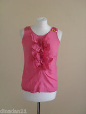 Womens top by Monsoon, size 8, pink, sleveless, silk