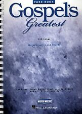 GOSPEL'S GREATEST - 'C' EDITION FAKE BOOK