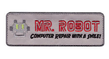 Iron on TAB Mr Robot series TV Costume Jacket cosplay Cyber Hacking FBI Patch