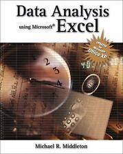 NEW - Data Analysis Using Microsoft Excel: Updated for Office XP