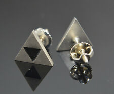 The Triforce Legend of Zelda inspired Earrings Sterling Silver .925