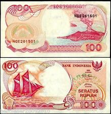 INDONESIA 100 RUPIAH UNC OLD ISSUE # 56