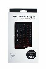 CROWN Wireless Clip On Keypad/Keyboard for PS3 Controller, PlayStation 3 Chatpad