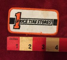 1 PRICE TIRE STORES RACING JACKET PATCH USED, UNKNOWN AGE BIN:E