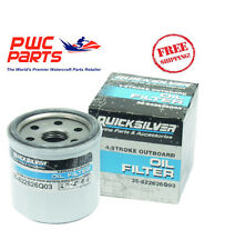 QUICKSILVER Mercury Oil Filter 2006+ 8-9.9HP 15/20HP 25/30HP OEM NEW 822626Q03