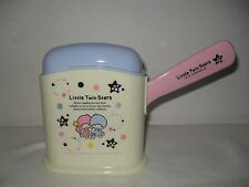 New 2012 Sanrio LITTLE TWIN STARS Plastic Rice Spoon with Stand