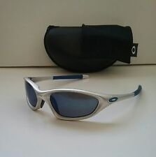 OAKLEY XX TWENTY FMJ 5.56 Silver w/ Ice Sunglasses Very RARE minute splice scar