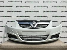 VAUXHALL CORSA D 2007-2011 FRONT BUMPER IN WHITE [Q124]