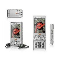 Sony Ericsson Walkman W995i - silver (Unlocked) WIFI GPS Cellular Phone 8.0MP