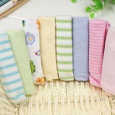 8Pcs Baby Infant Newborn Bath Towel Washcloth Bathing Soft Feeding Wipe Cloth
