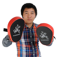 2X Boxing Mitt MMA Target Hook Jab Focus Punch Pad Training Glove Karate