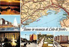 BG17706 siamo in vacanza al lido di jesolo map cartes geographiques   italy