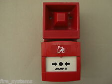 £150 EMS 53-5320/R Radio Fire Alarm Sounder + Input Unit Call Point