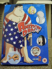 DVD TV BOXSET * AMERICAN DAD VOLUME TWO * DVD TELEVISION SET *