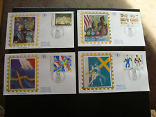 FRANCE - 4 enveloppes 1er jour 18/3/1994 (france/suede) (cy21) french