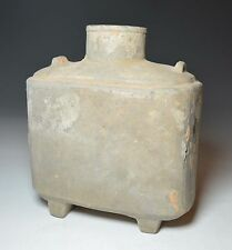 Chinese Han dynasty Pottery flask  206 BCE-220 CE China 中国古董