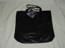 BEYONCE Fragrance Midnight Heat BLACK TOTE bag w/ B initial  NWT