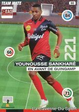 080 YOUNOUSSE SANKHARE FRANCE EAG GUINGAMP CARD ADRENALYN 2016 PANINI