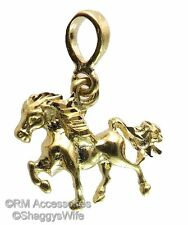 Horse Charm / Pendant EP Gold Plated with a Lifetime Guarantee!
